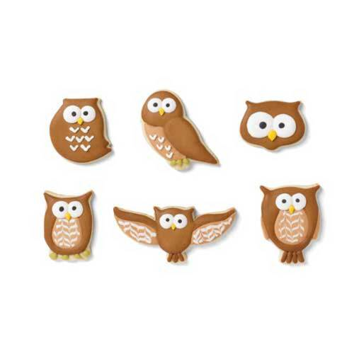 Owl Family Cookie Cutter Set