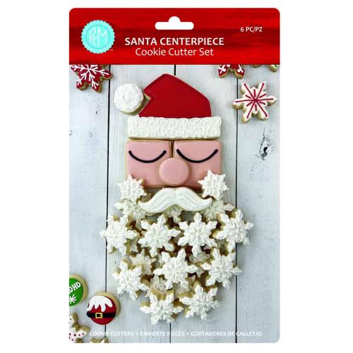 Santa Centerpiece Cookie Cutter Set