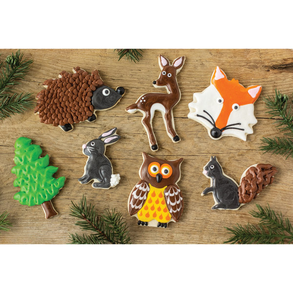 SOS!  Forest Friends Cookie Cutter Set