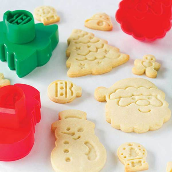Holiday Double Sided Cutter & Stamper Set