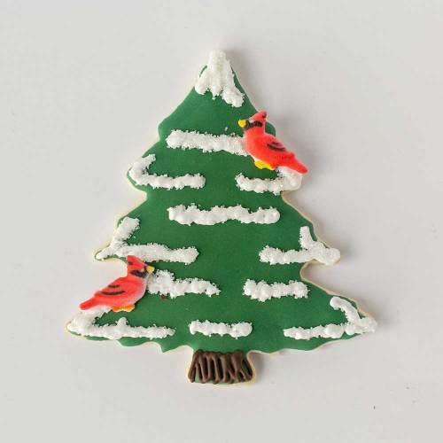 Green Christmas Tree Cutter