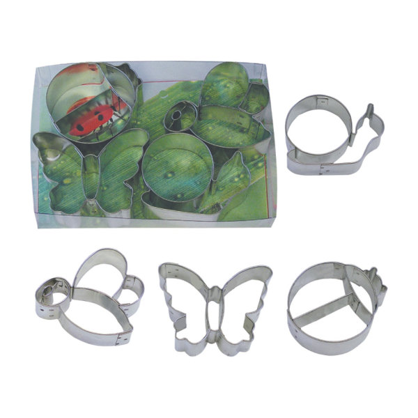 SOS!  Garden Friends Cookie Cutter Set