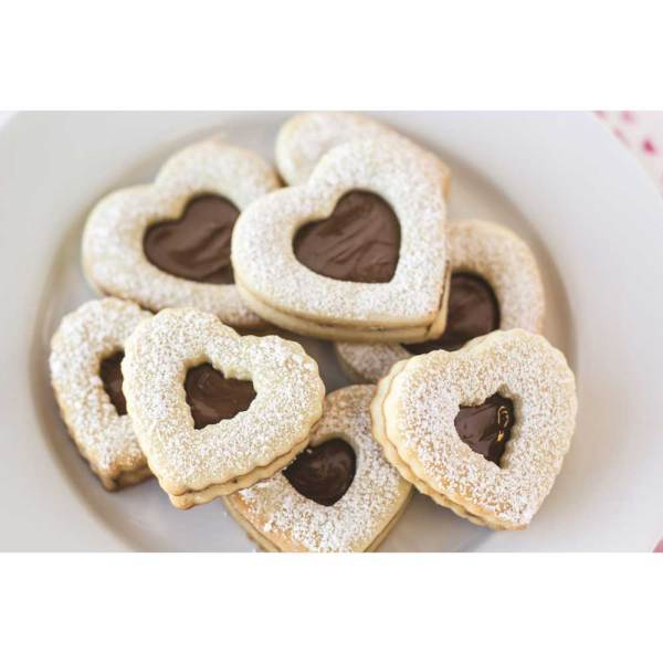 Graduated Heart Double Sided Cookie Cutter Set