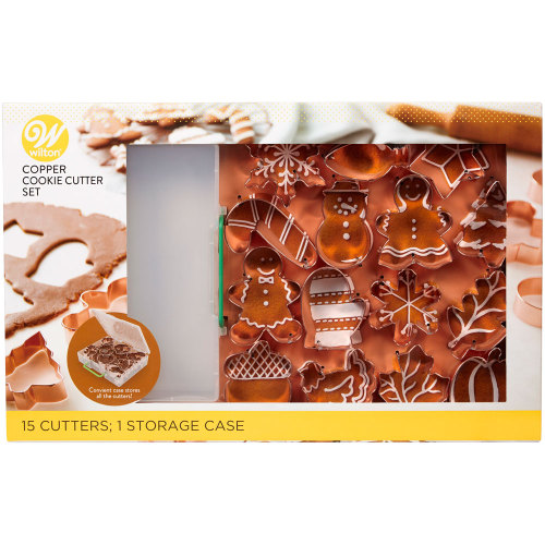 Holiday Copper Cutter Set
