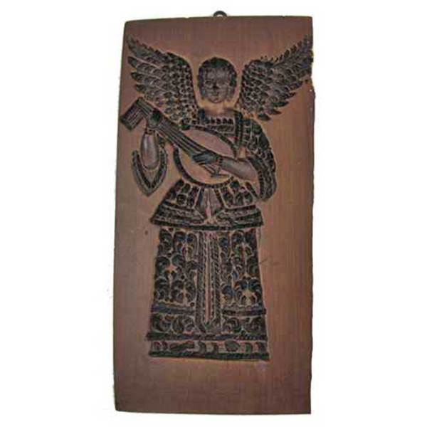 Angel with Lute Cookie Mold