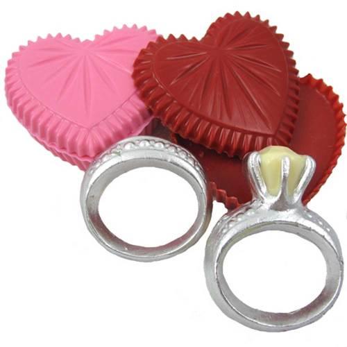 Engagement & Wedding Ring Chocolate Mold