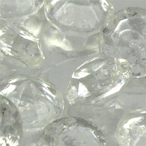 Medium White Diamond Edible Sugar Cake Jewels
