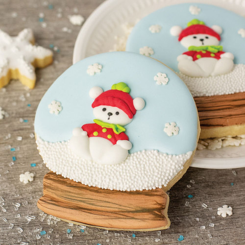 Winter Snow Globe Cookie Cutter