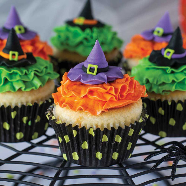 Witch Hat Royal Icing Decorations