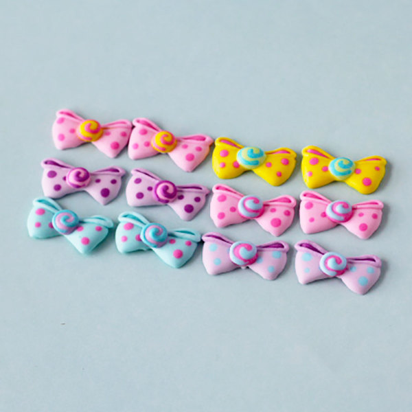 Fancy Bows Icing Decorations