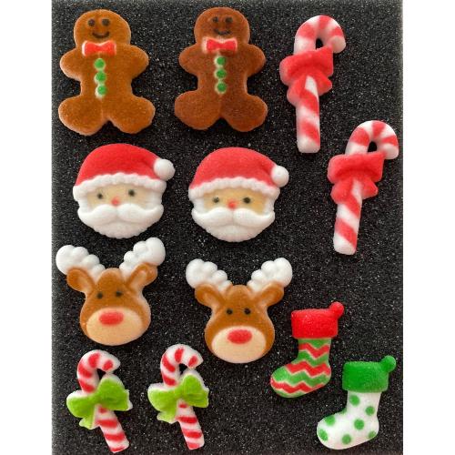 Noel Mix Sugar Decorations
