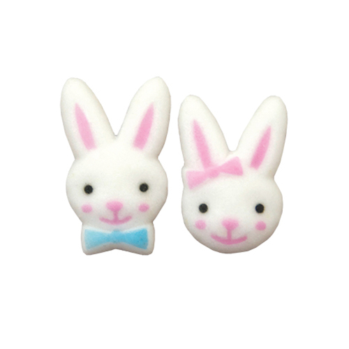 Bunny Boy & Girl Sugar Decorations