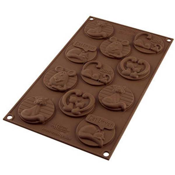 Kitten Easy Choco Mold