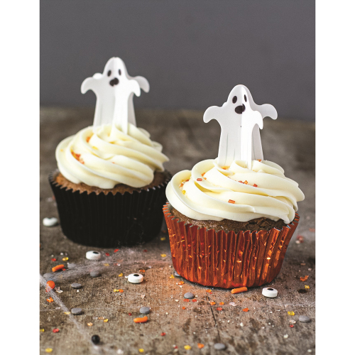 3D Ghost Wafer Decorations