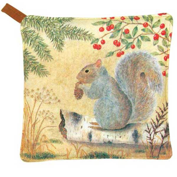Squirrel Potholder