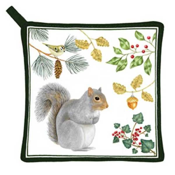 SALE!!  Squirrel Pot Holder