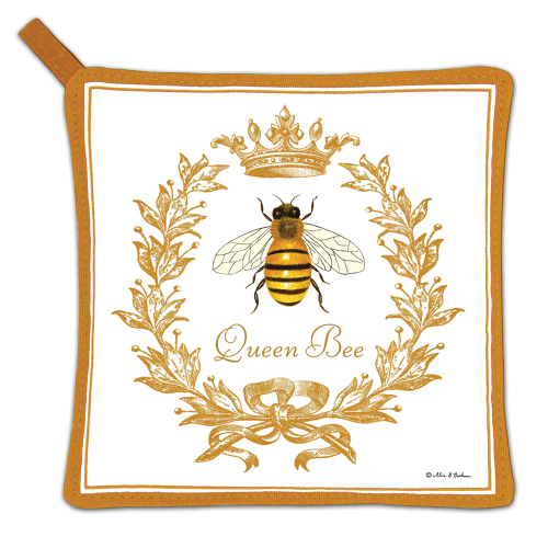 SOS!  Queen Bee Potholder