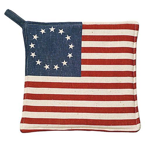American Flag Potholder