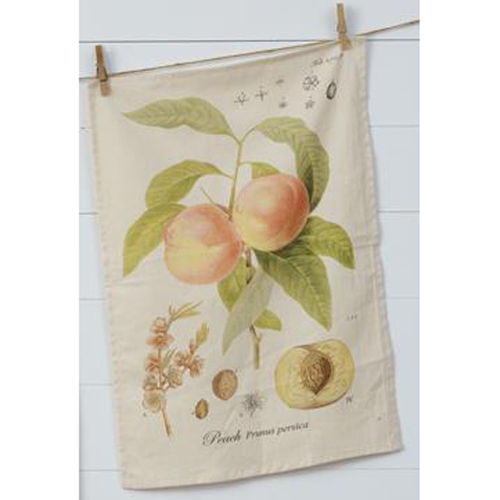 Peach Tea Towel