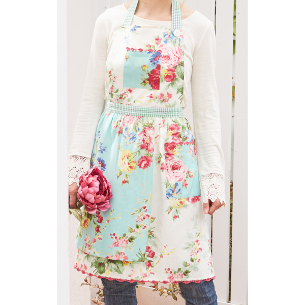 Spring Patchwork Apron