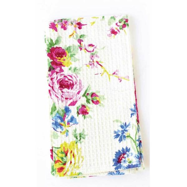 LTD QTY!  Cottage Rose Tea Towel Set