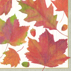 Autumn Leaves Lunch Napkin