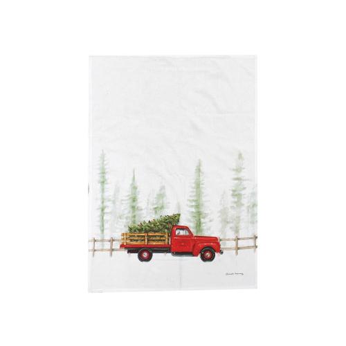 Holiday Truck Cruiser Kitchen Towel