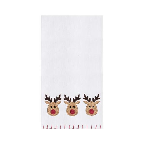 Reindeer Games Flour Sack Towel