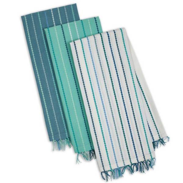 SALE! Anchor Dobby Stripe Kitchen Towel Set
