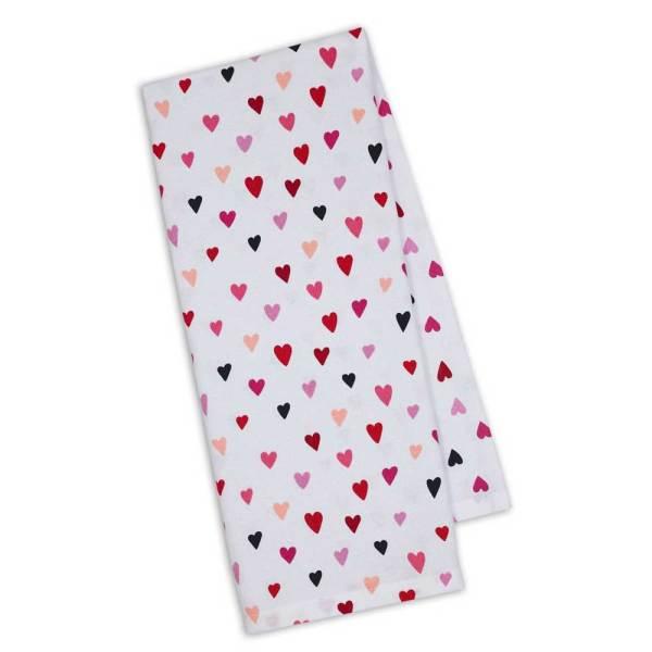 Confetti Hearts Kitchen Towel