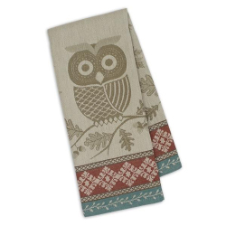 SALE! Oak & Owl Jacquard Dishtowel