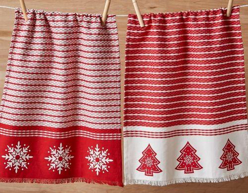 Nordic Winter Dishtowel Set