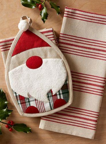 Winter Gnome Potholder Gift Set