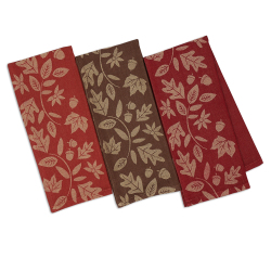SALE!!  Harvest Vine Jacquard Dishtowel Set
