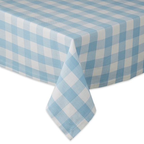 SALE!  Blue Checks Tablecloth