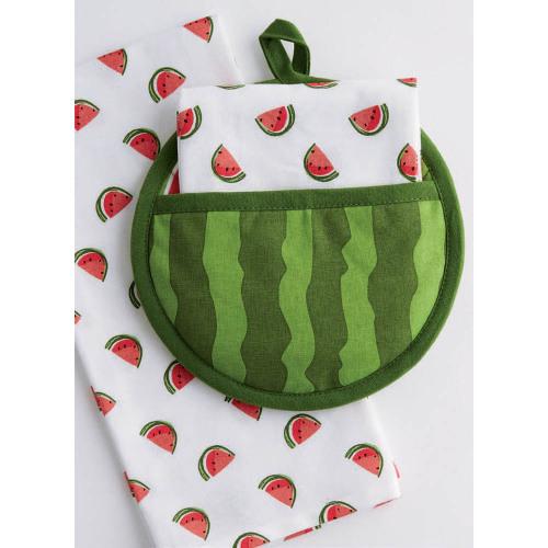 SALE!  Watermelon Potholder Gift Set