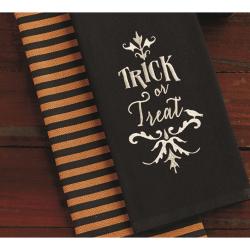 SALE!!  Trick or Treat Dishtowel Set