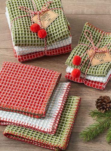 Christmas Cheer Dishcloth Set