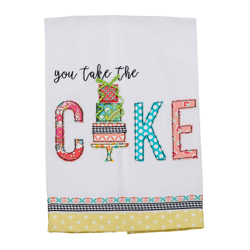 You Take the Cake Kitchen Towel