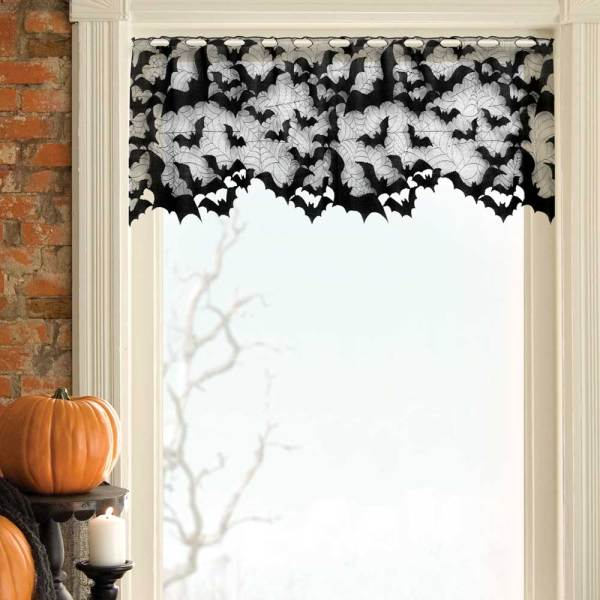 Batty Lace Mantle Scarf