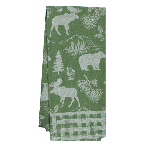 Pinecone Trail Jacquard Tea Towel