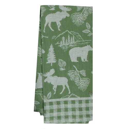 Pinecone Trail Jacquard Tea Towel