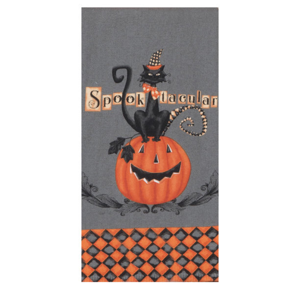 Halloween Spooktacular Terry Towel