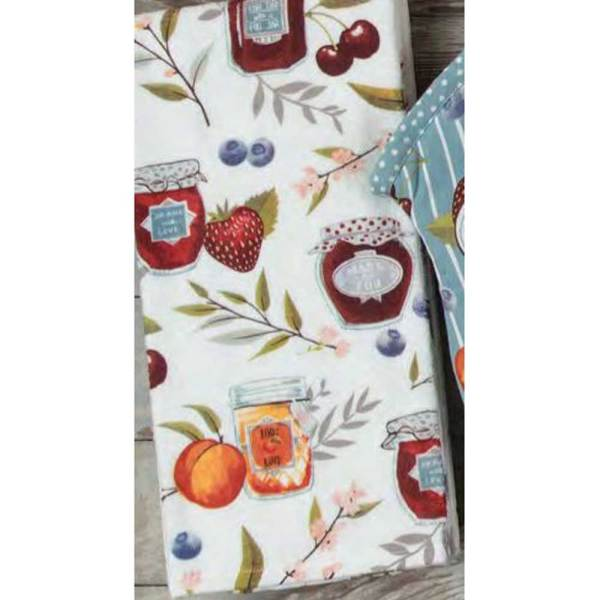 Fruit Canning Terry Towel