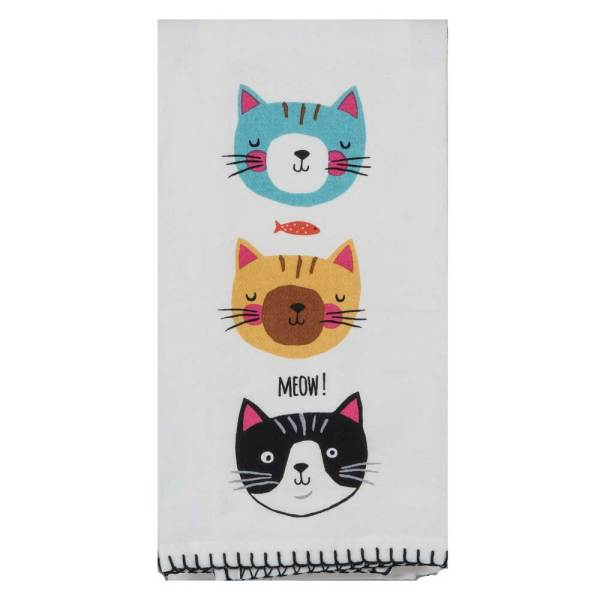 Cat's Meow Flour Sack Towel