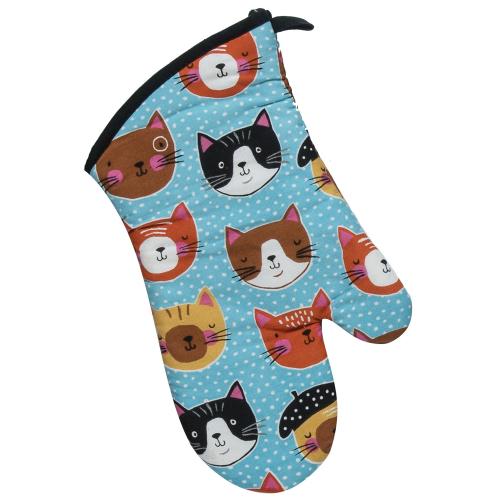 LTD QTY!  Cat's Meow Oven Mitt