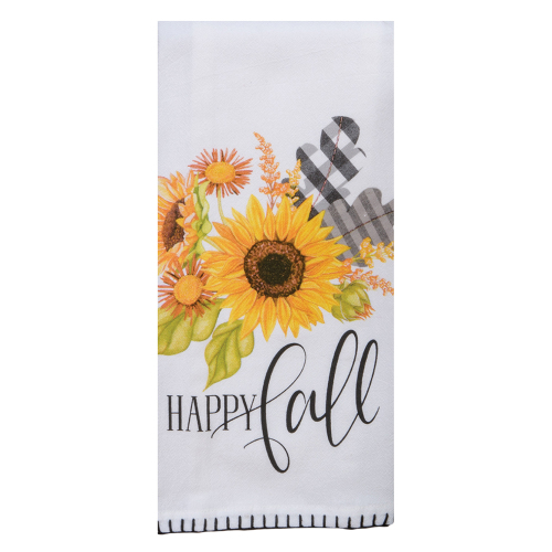 Happy Fall Flour Sack Towel