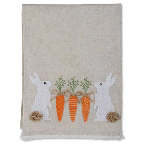 Linen Easter Table Runner