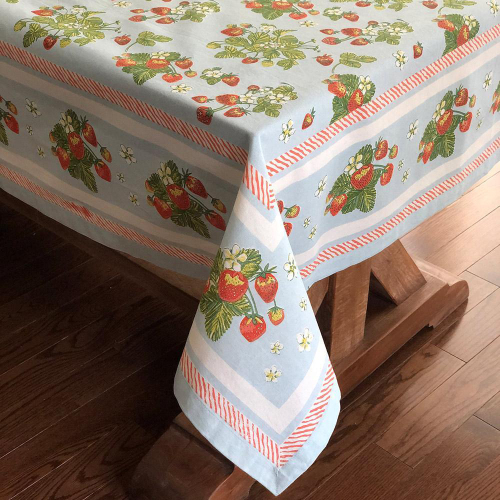 Very Strawberry Tablecloth