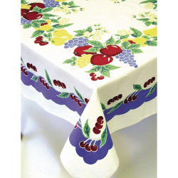 Vintage Cherries Tablecloth 52""